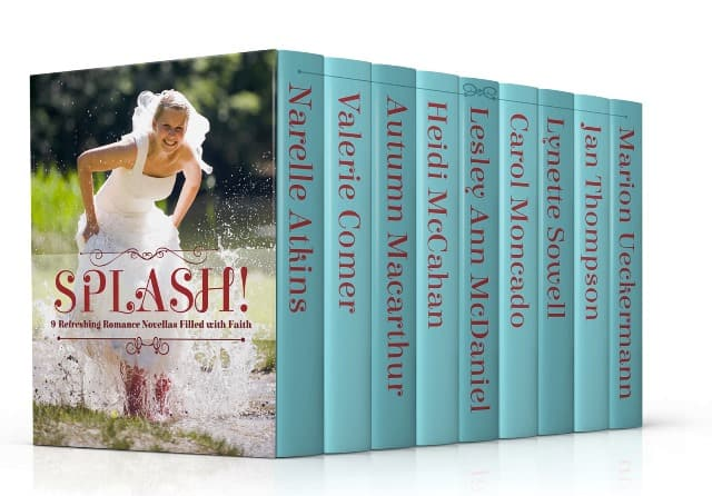 Cover image for Splash, collection of 9 summer inspirational romance novellas