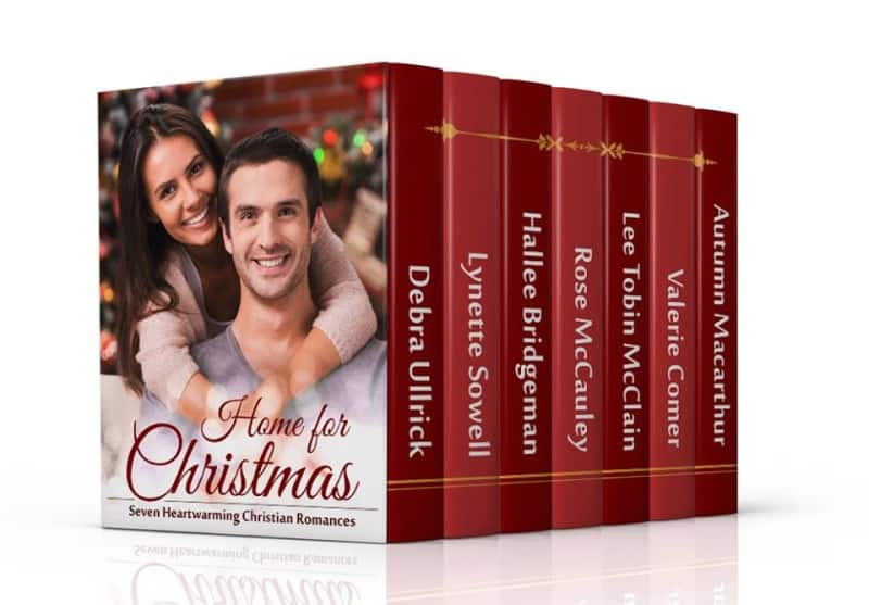 Cover image for Home for Christmas, sweet Christian romance boxed set