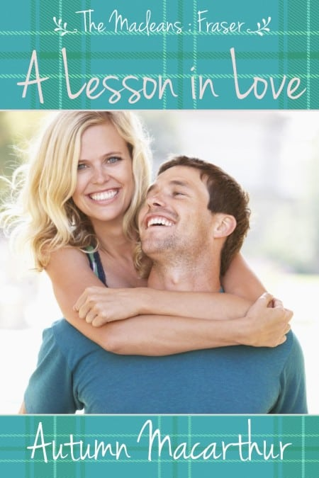 Cover image for A Lesson in Love: a Scottish springtime sweet Christian romance by Autumn Macarthur