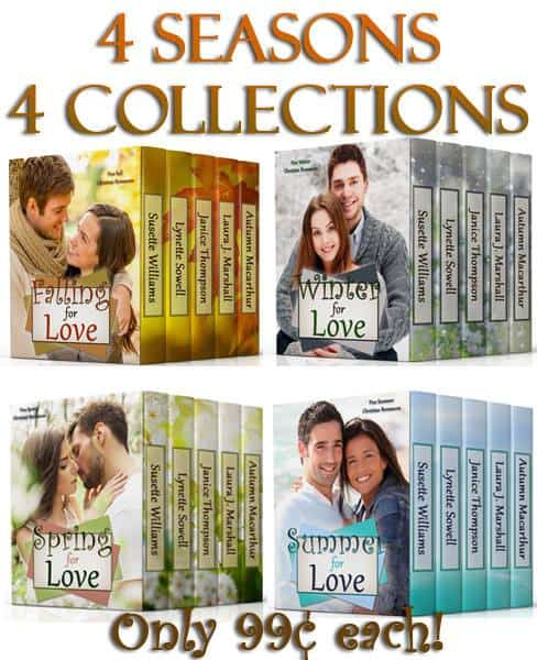Cover for multi-author Christian contemporary romance boxed set series Seasons of Love