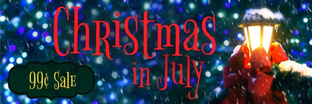 Christian fiction 99c Christmas in July promo, from July 21 to 25