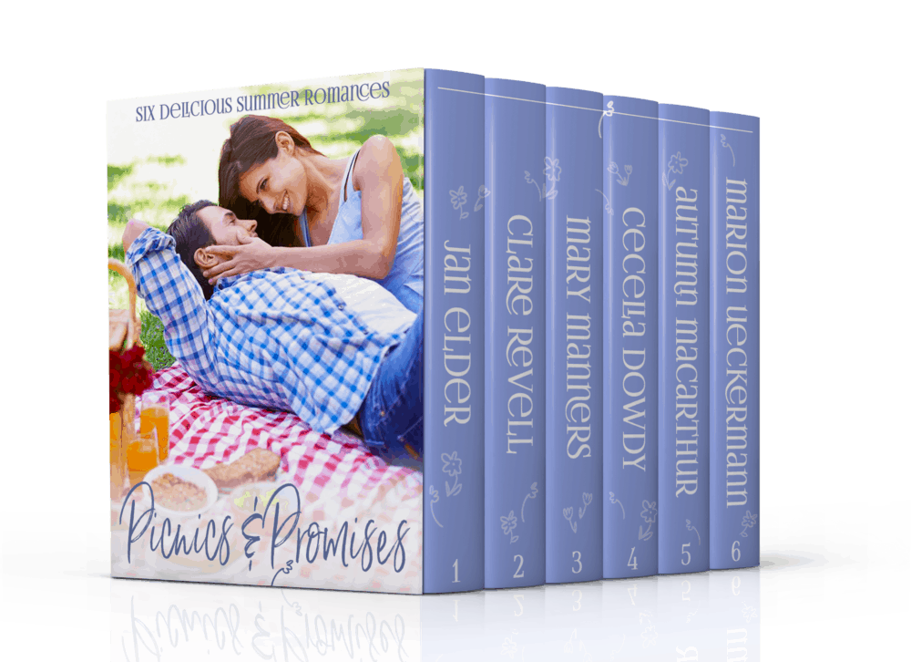 Cover image for Picnics & Promises six book summer Christian romance boxed set