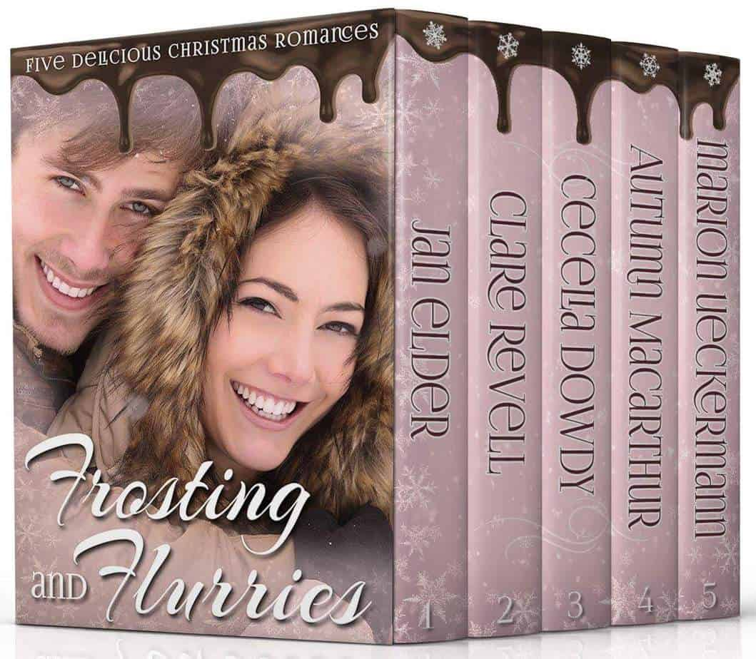 Cover image for Frosting & Flurries five book Christmas Christian romance boxed set