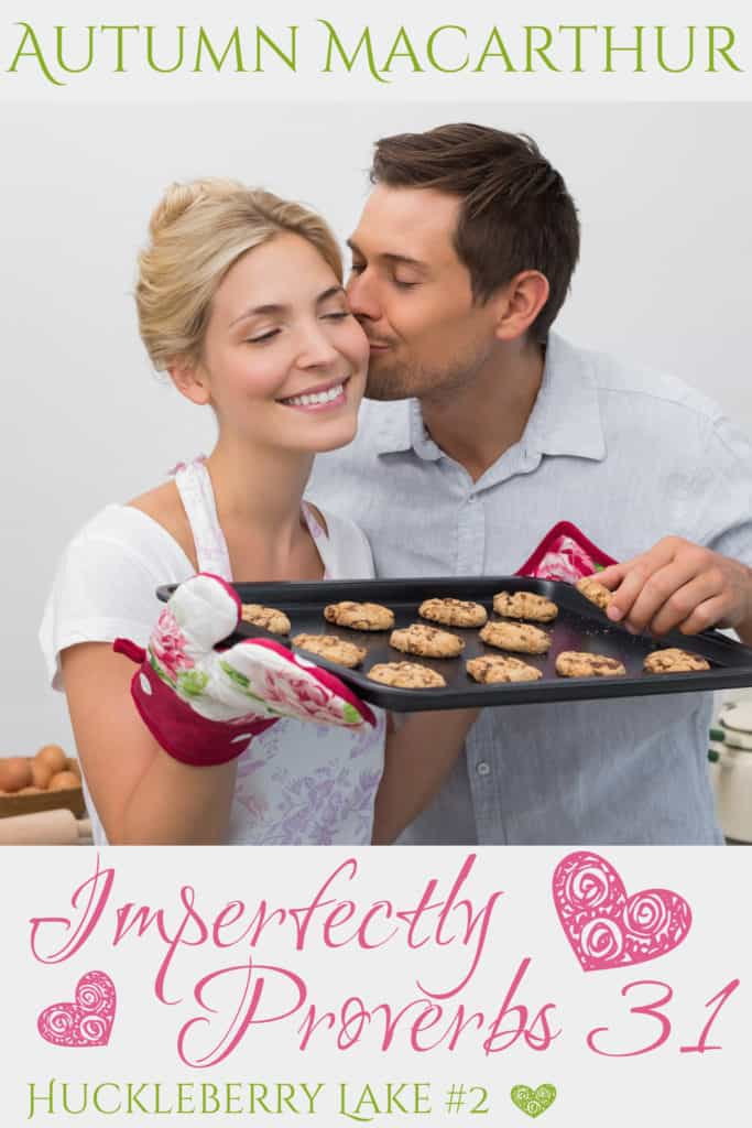 cover image for Imperfectly Proverbs 31, new Christian romance by Autumn Macarthur
