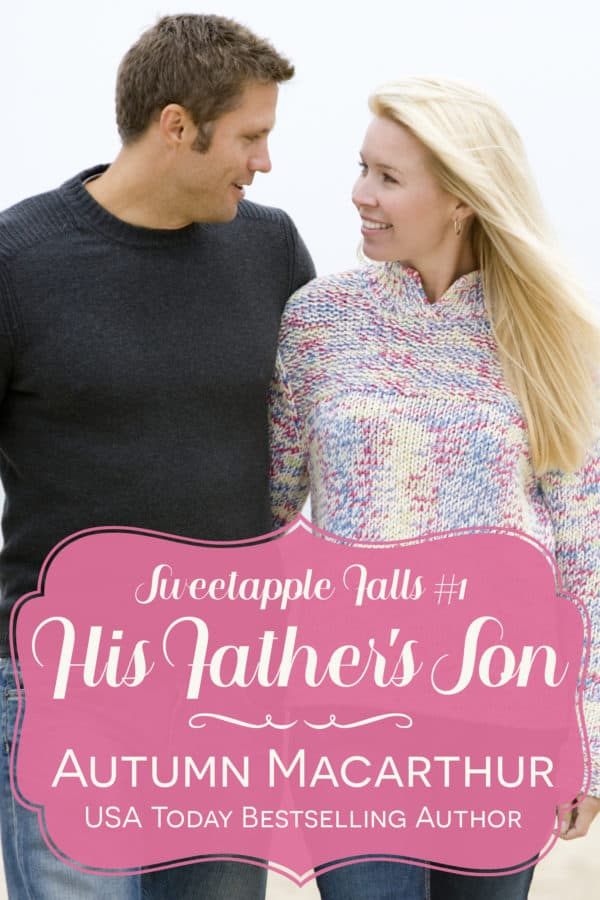 Cover image for emotional Christian romance His Father's Son