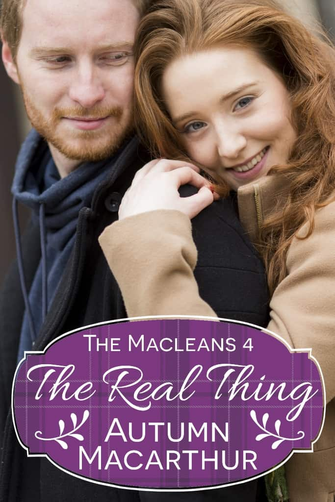 Cover image for Scottish Christian romance The Real Thing