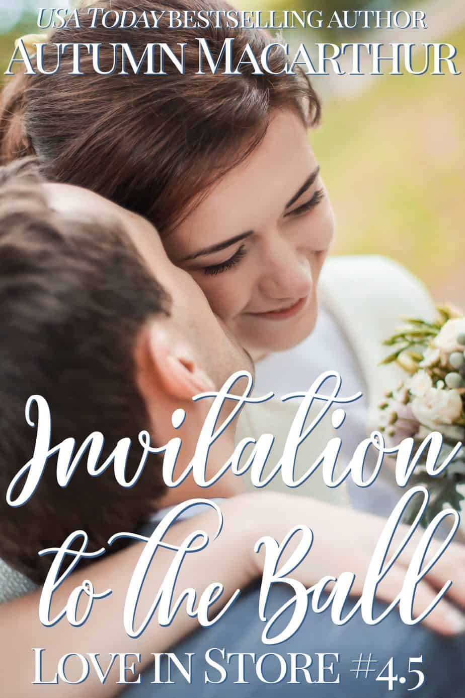 Cover for sweet Christian romance novella Invitation to the Ball, by Autumn Macarthur