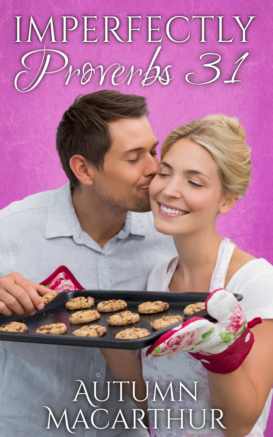 Cover image for sweet and clean Idaho set summer romance novella, Imperfectly Proverbs 31, by Christian author Autumn Macarthur